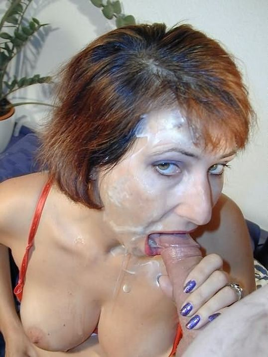 фото зрелых женщин пьющих сперму - 8